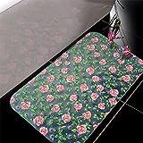 Rutschfeste Matten PVC Transparent Geschmacklos WC-Matten Badezimmer Anti-Rutsch-Matte Druckplatte Modernes Design (Farbe : B)