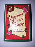 mysore sandal soap pack of 6 (75g) Mysore Sandal Soap, 75G (Pack Of 6)