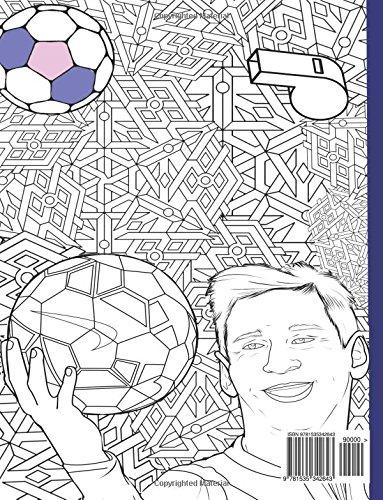 Livre De Coloriage Pour Adultes Cristiano Ronaldo Lionel Messi Neymar Dwayne David Beckham John Cena Ronaldinho Gaucho Ricardo Kaka Mesut Ozi Sachin Tendulkar Buy Online In Bahamas At Bahamas Desertcart Com Productid 48706657
