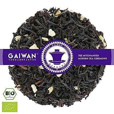 """N° 1251: Thé noir bio """"Gingembre-orange"""" - feuilles de thé issu de l'agriculture biologique - GAIWAN® GERMANY - thé noir d'Inde, gingembre, orange, saveur naturels"""