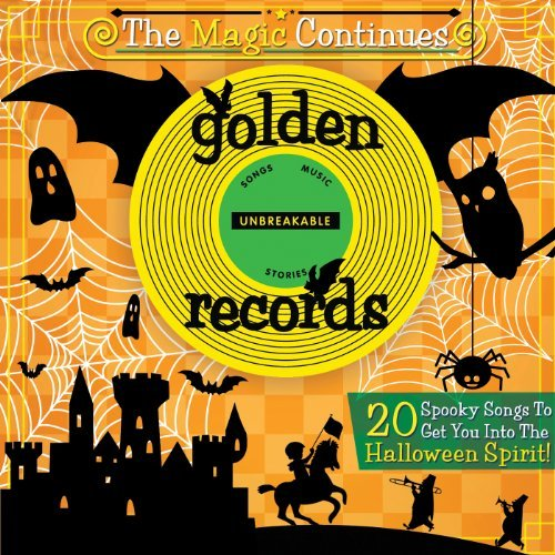 Spooky Halloween Hits by Golden Records (2012-10-02) (Halloween Records Golden)