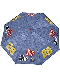 Paraguas Minnie/Mickey Perletti – Paraguas para niñas/niños Plegable – Paraguas para niñas