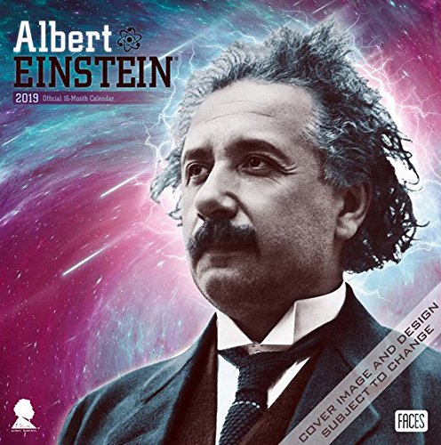 Portada del libro Albert Einstein 2019 - 18-Monatskalender: Original BrownTrout-Kalender