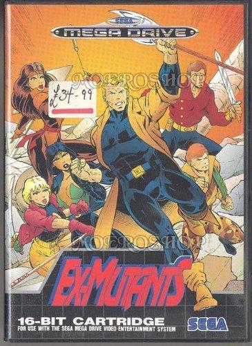 EX Mutants - Megadrive - PAL