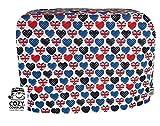 Cozycoverup Housse anti-poussière pour Kenwood Nourriture mixeur en anglais Love (prospero 900W Km240Km241Km243Km244Km283Km288)