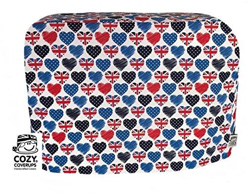 CozyCoverUp Staubschutz für Küchenmixer in British Love (Bosch MUM5 MUM52120GB MUM57830GB MUM54D00GB MUM582)