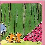 Witzige Grußkarte ganz viel Liebe Eichhörnchen