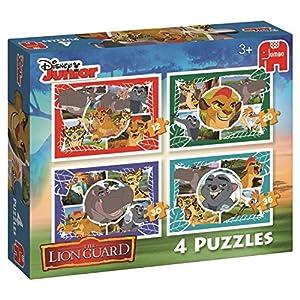 Disney Lion Guard 4in1 Puzzle 12pieza(s) - Rompecabezas (Tradicional, Dibujos, Disney Lion Guard, Preschool, 3 año(s), Niño/niña)