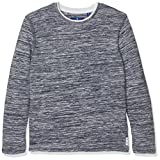 TOM TAILOR Kids Jungen Structured Basic Pullover, Blau (Real Navy blue1 6975), 152