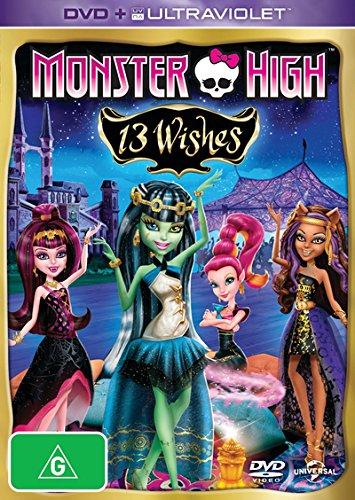 Dvd High 13 Monster (Monster High: 13 Wishes [DVD-AUDIO])