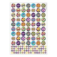 """Sticker Solutions 25 mm/10 mm 1310""""Praise Words"""" Sticker"""
