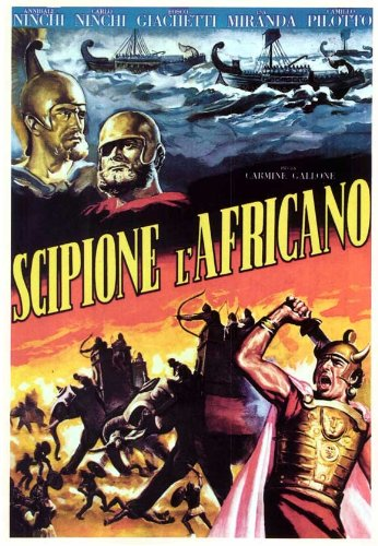 Scipio Africanus: The Defeat of Hannibal Plakat Movie Poster (11 x 17 Inches - 28cm x 44cm) (1937) Italian