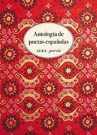 Antología de poetas españolas par Varias Autoras