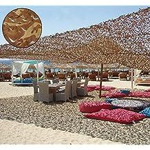 Oarea, red con decoración de camuflaje para casetas de caza, desert camo, 3x4M