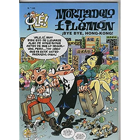 Ole Mortadelo y Filemon numero 140