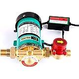SHYLIYU Bombas de presión de agua automáticas bomba de refuerzo Bomba de agua caliente salida con interruptor de flujo de agu