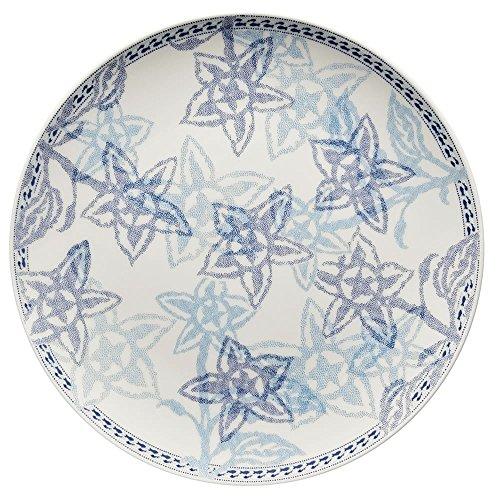 Hutschenreuther 02471-725752-10862 Lots of Dots Flowers Teller Flach 22 cm, Blau