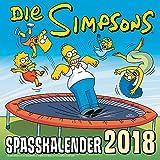 Produkt-Bild: Simpsons Wandkalender 2018: Die Simpsons: Spaßkalender 2018