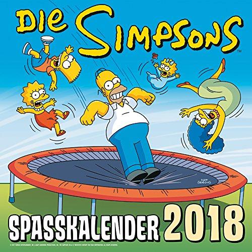 Simpsons Wandkalender 2018: Die Simpsons: Spaßkalender 2018