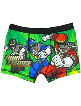 Niño Power Rangers Dino Charge Ropa interior Bañador Ajuste Bóxers tallas desde 4 a 8 Años