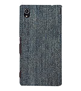 EPICCASE Rugged jean Mobile Back Case Cover For Sony Xperia M4 Aqua Dual (Designer Case)