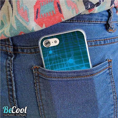 BeCool®- Coque Etui Housse en GEL Flex Silicone TPU Iphone 8, Carcasse TPU fabriquée avec la meilleure Silicone, protège et s'adapte a la perfection a ton Smartphone et avec notre design exclusif. She L1495