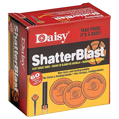 Daisy Outdoor Produkte shatterblast Ziele (60 ct.) (orange, 5,1 cm)