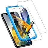 UGREEN 2 Pack iPhone 11 / XR Screen Protector compatible for iPhone 11 Screen Protective 6.1 inch Tempered HD Clear Glass wit