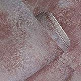 Graue Zement-PVC-Vinyltapete für Wände Wohnzimmer-Restaurant-Kleidungsgeschäft-Hintergrund-Tapeten-Rolle, c