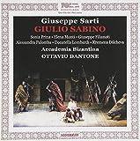 Sarti - Giulio Sabino / Prina · Filianoti · Accademia Bizantina · Dantone [Import USA]