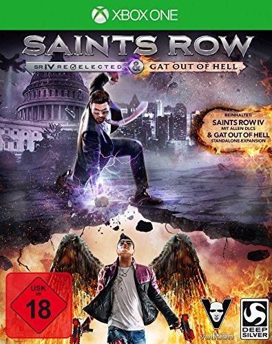 Saints Row IV Re-elected + Gat Out of Hell (XONE) (Saints Row-spiele Für Xbox 360)
