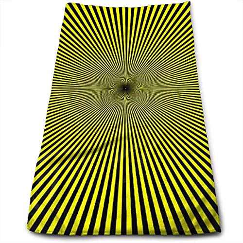 Burgund Illusion (3D Illusion Pattern Cool Towel Beach Towel Instant Cool Ice Towel Gym Quick Dry Towel Microfibre Towel Cooling Sports Towel)