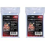Ultra Pro Standaard Regular Soft 200 stuks Penny kaartfolie kaarthoezen Sleeves - voor verzamelkaarten zoals Pokemon Magic Sp