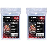 Ultra Pro Lot de 200 pochettes standard pour cartes Penny - Pour cartes à collectionner comme les cartes Pokemon Magic…
