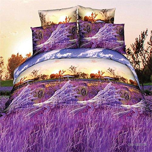 Bazaar 4pcs Kostüm 3D Polyester-Faser Lavendel Färbemittel Reaktivdruck die Größe der Babykleidung einem Königin von König