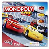 Monopoly C1343102 Junior : Disney Pixar Cars 3 Edition