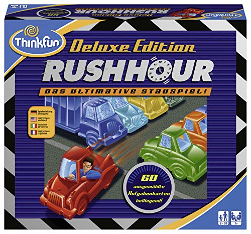 Ravensburger 76305 ThinkFun Rush Hour Deluxe Spiel-Smart Game