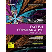 All  in One English Communicative CBSE Class 10  (based on textbook Literature Reader) for 2018 - 19