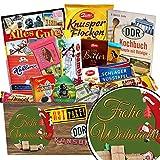 Frohe Weihnachten | Ossi Schokolade | Schokoladen Geschenkset L | Mokka Bohnen, Puffreis Argenta, Zetti | Geschenke Geburtstag für Sie Geburtstags Geschenke für Ihn Zartbitter Schokolade Geburtstag