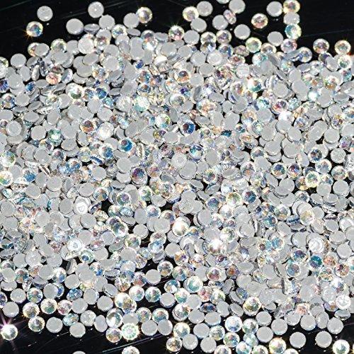 1440 strass en cristal Moonlight SS6 strass blanc clair