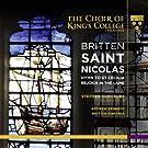 Britten / Saint Nicolas
