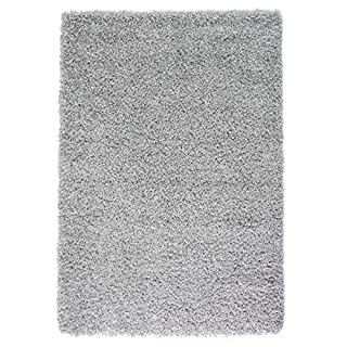 Extra Large 5cm Thick Shag Pile Soft Shaggy Area Rugs Modern Carpet Living Room Bedroom Mats (160x230cm (5'3