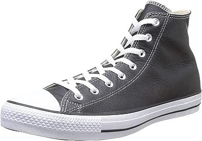 Converse Ct Core Lea Hi, Sneaker unisex adulto, Black, 35