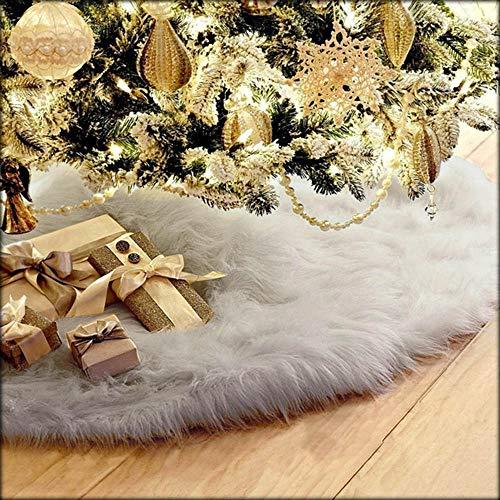 Mitlfuny Weihnachtsbaumdecke Weihnachtsdeko Weihnachtsbaum Rock Weihnachtsbaum Decke Weihnachtsbaum Deko 78cm