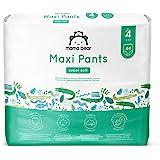 Marchio Amazon - Mama Bear Pannolini a mutandina maxi - Taglia 4 (8-15kg), 2 confezioni da 44 pezzi