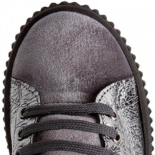 Donna Tessuto Bronzo Sneakers Flden3lel12 Platform Inverno Gris Beige Lamè Guess 2018 IqaOwf755