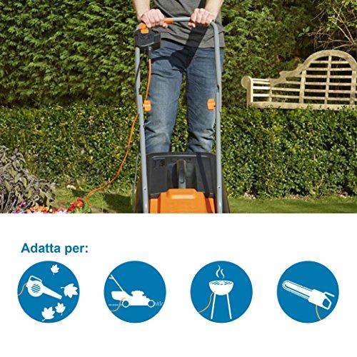 Zoom IMG-3 elecraline 35420 12 giardino avvolgicavo
