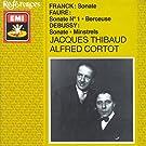 Franck / Debussy / Faure: Sonatas for Violin and Piano