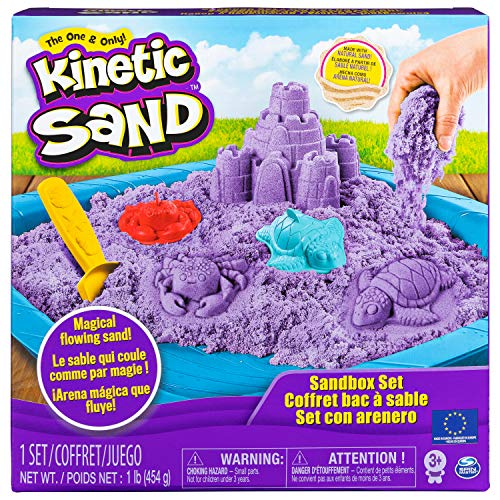 Kinetic Sand - 6028092 - Kinetic Sand Box lila