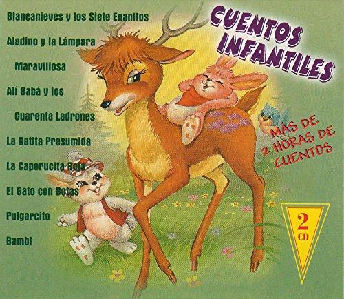 Cuentos Infantiles: Alí Babá, Pulgarcito, Blancanieves, Bambi,…, modelos surtidos